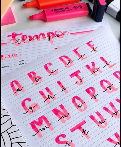 cuadernillo de lettering y letra timoteo para principiantes