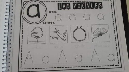 cuadernillo de trabajo para niños prescolar pdf
