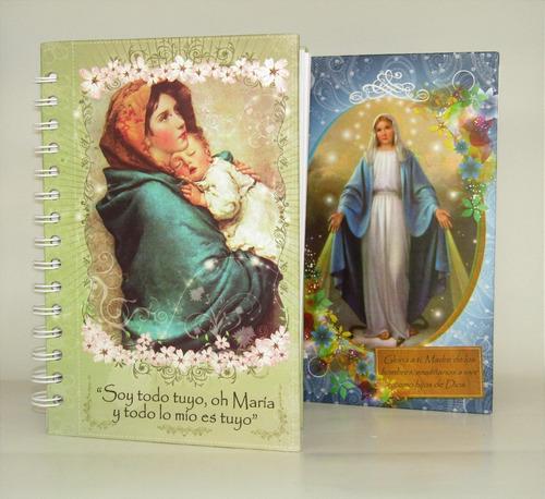 cuaderno 5 materias diseño católico