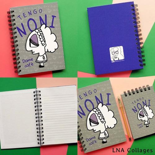 cuaderno anillado noneta regalos divertidos día del maestro
