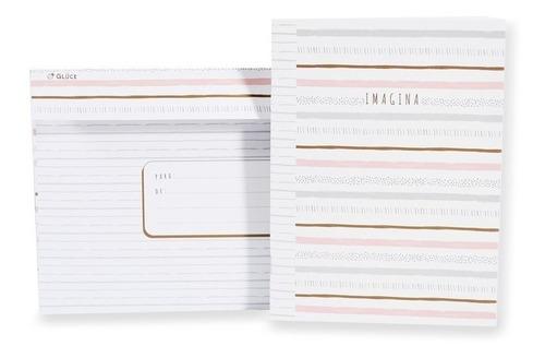 cuaderno con sobre