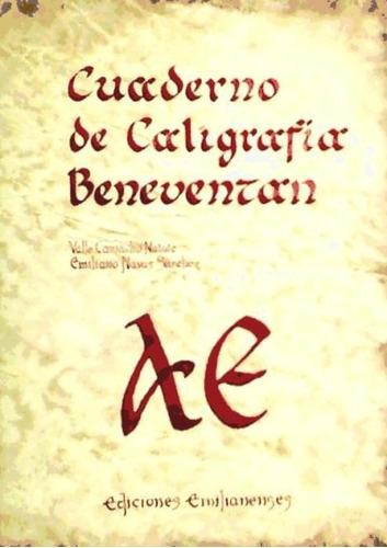 cuaderno de caligrafía (beneventan)(libro )