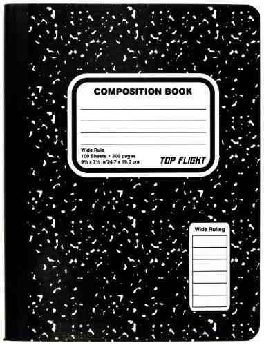 Cuaderno de composici n m rmol cosido envio gratis 136 for Composicion del marmol