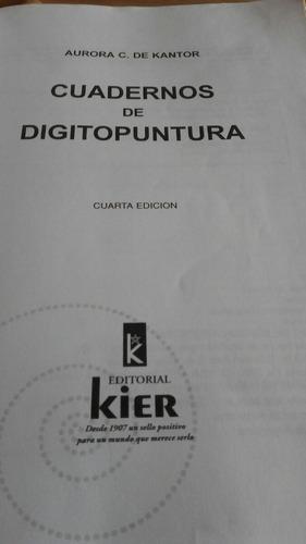 cuaderno de digitopuntura editorial kier