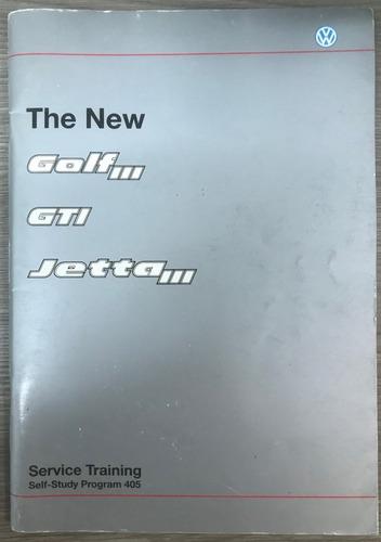 cuaderno de entrenamiento the new golf iii / gti / jetta iii