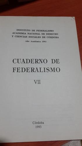 cuaderno de federalismo