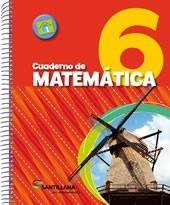 cuaderno de matematica 6 - en movimiento - santillana