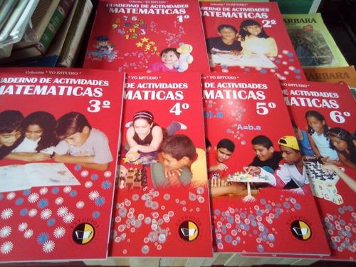 cuaderno de matemáticas colección yoestudio