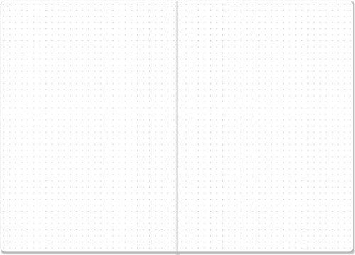 cuaderno de matriz de puntos essentials, tamaño a5 (bullet