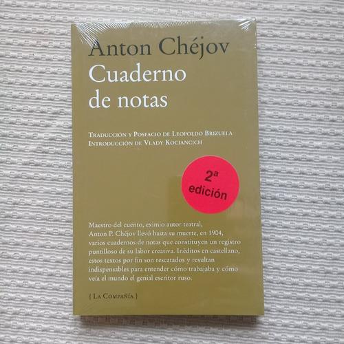 cuaderno de notas de anton chéjov