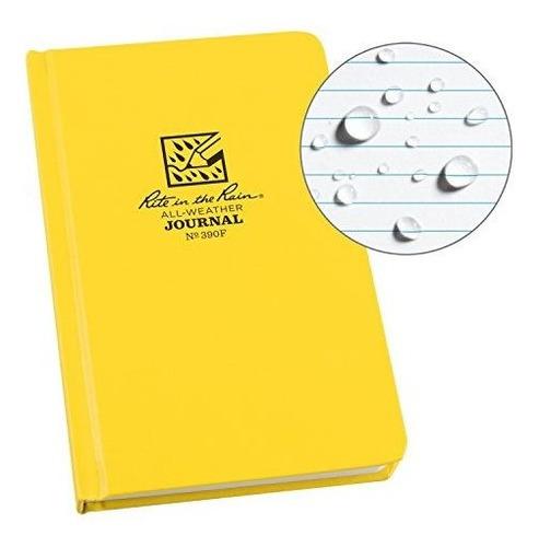 cuaderno de pasta dura, rite in the rain,  12.06 x 19.05 cm.