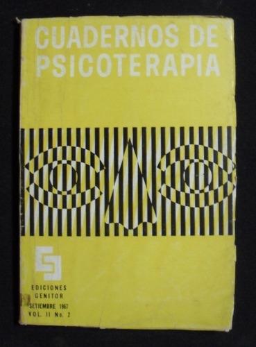 cuaderno de psicoterapia, volumen ii nº 2