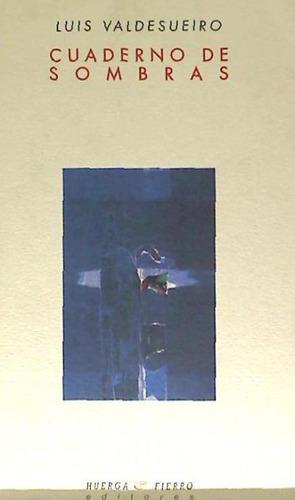 cuaderno de sombras(libro poesía)