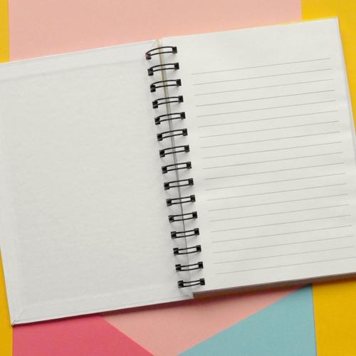 cuaderno de tapa dura perrikiss - día del maestro