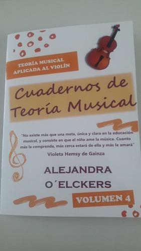 cuaderno de teoria musical aplicado al violín - volumen 4