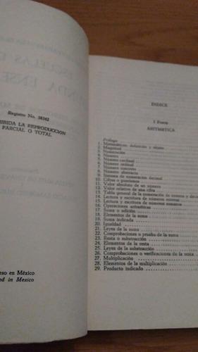 cuaderno de trabajo escuelas de segunda enseñanza