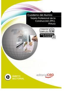 cuaderno del alumno tarjeta profesional de la construcción (
