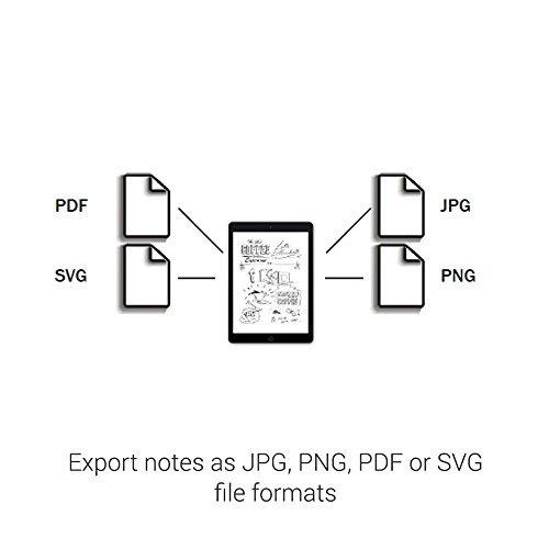 cuaderno digital wacom bamboo slate smartpad, grande (tam...