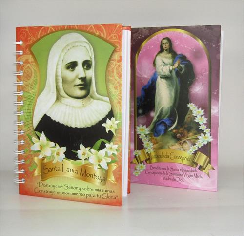 cuaderno diseño católico