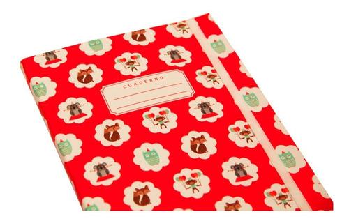cuaderno diseño circo 80h lisas a5 papelera contemporánea