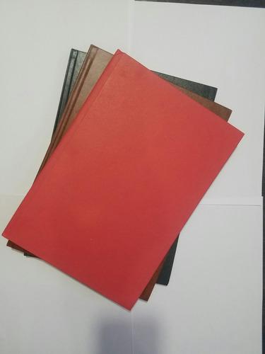 cuaderno empastado 100h líneas