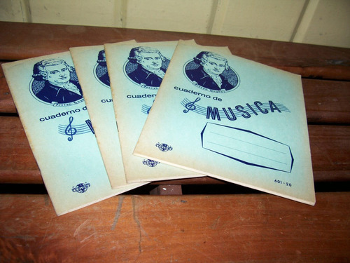 cuaderno escolar antiguo