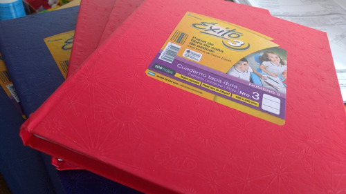 cuaderno escolar exito e3 19x24 t/dura rayadas 100 hs araña
