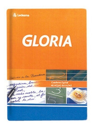 cuaderno escolar gloria 84 hojas 10 unidades tapa dura n 1