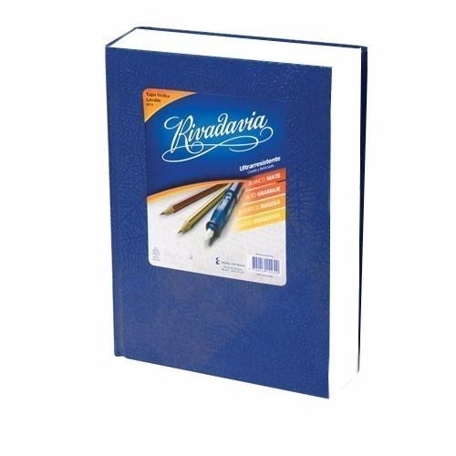 cuaderno escolar rivadavia 194 hojas 3 unidades tapa dura n1