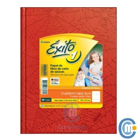 cuaderno exito escolar 100 hojas rayadas x 3 unidades