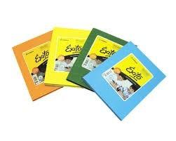 cuaderno exito escolar 48 hojas tapa dura color o lunar