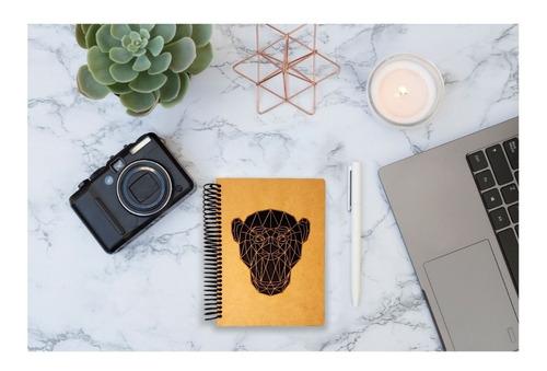 cuaderno forma francesa regalo forma de chango art14308