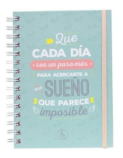 Cuaderno Frases Motivadoras Tapa Dura 14 X 20 Cm
