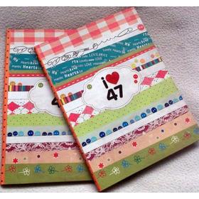 Cuaderno I Love 47 84 Hojas Tapa Dura Industria Argentina