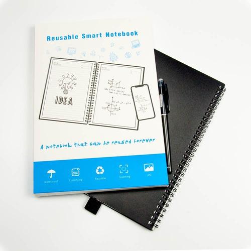 cuaderno inteligente reutilizable, borrable 100 páginas