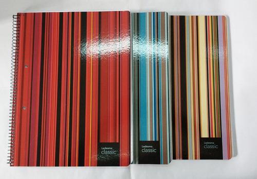 cuaderno ledesma classic a4 84 hojas ray/cua