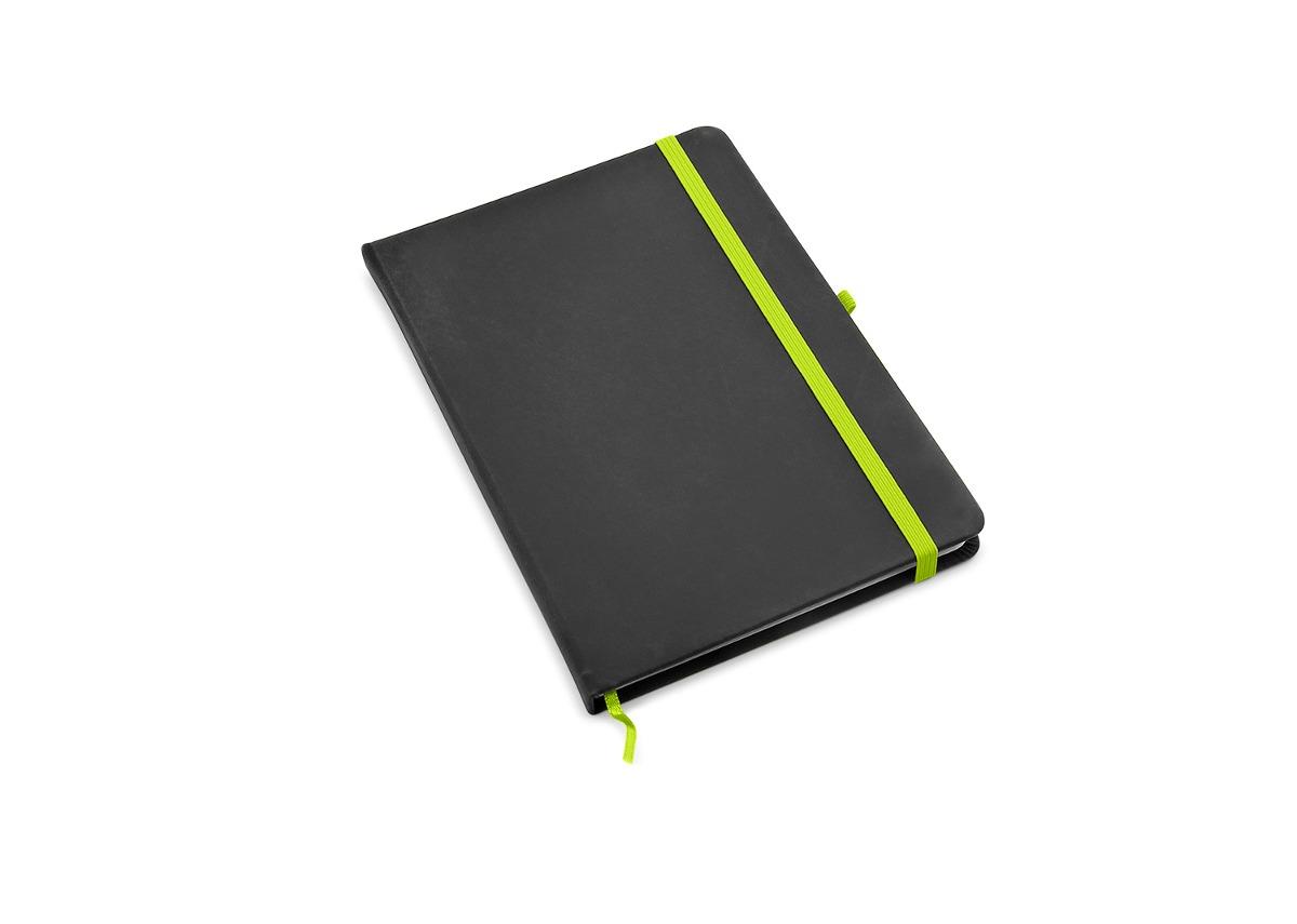 Cuaderno Libreta Camaleon Color 80 Hojas Papel R-negro/verde ...
