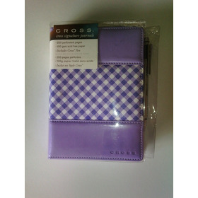 Cuaderno Libreta Journal Cross Original Con Bolígrafo