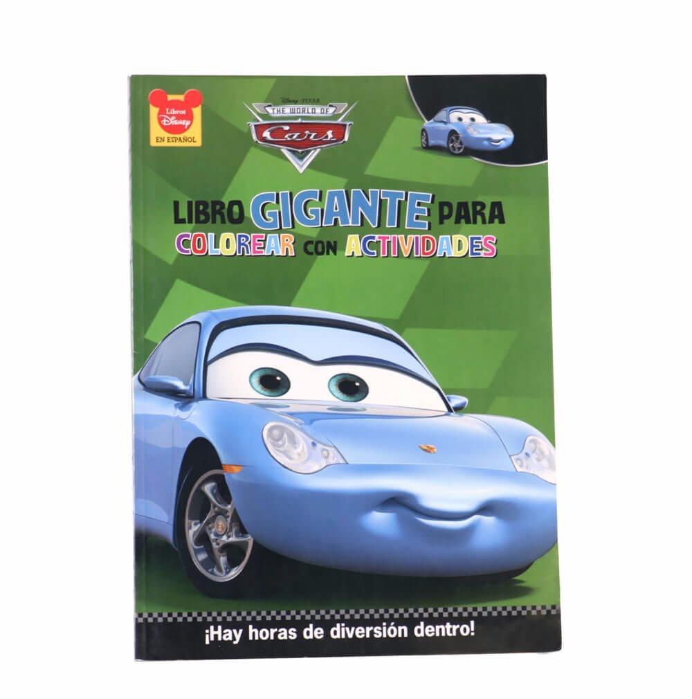 Cuaderno Para Colorear De Cars Sally