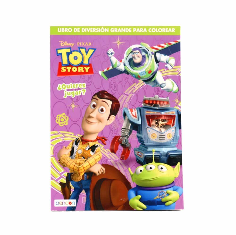 Cuaderno Para Colorear De Toy Story - $ 73.00 en Mercado Libre