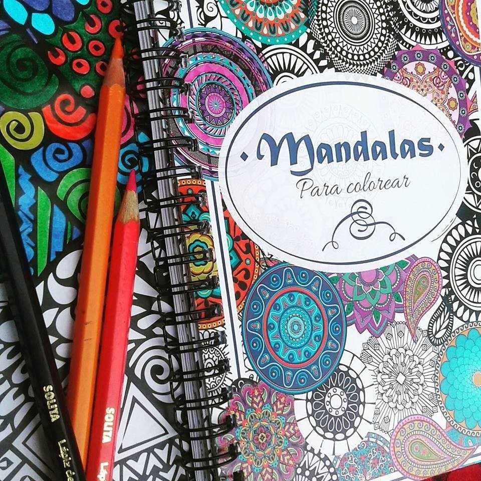 Cuaderno Para Colorear Mandalas   Bs. 0,08 en Mercado Libre