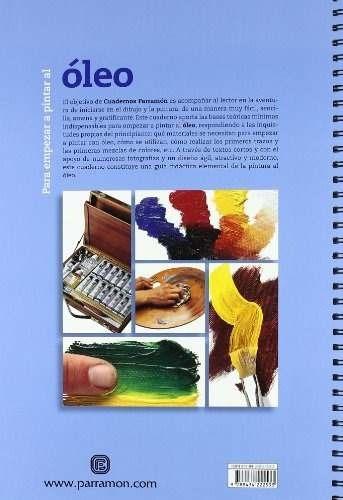 cuaderno para empezar a pintar al óleo