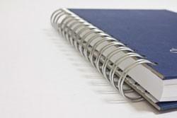 cuaderno para empresas con logo publicitario al mayor