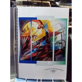 Cuaderno Pentagramado Artesanal 40 Hojas Oferta Especial