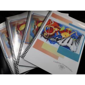 Cuaderno Pentagramado Artesanal A4 50 Hojas Personalizado