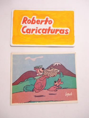 cuaderno polito picapiedra tiro loco oso yoggie de raya c/u