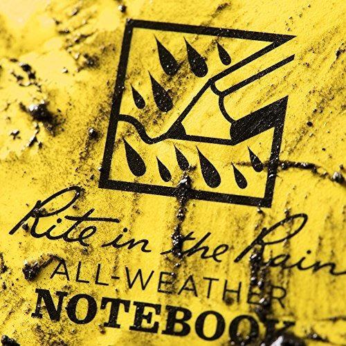 cuaderno rite in the rain de lista, espiral latera,20.3x17.8