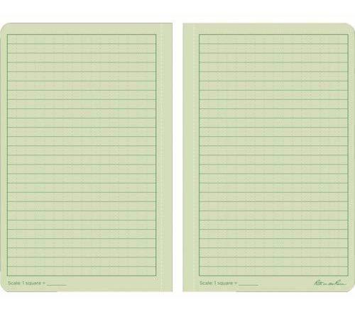 cuaderno rite in the rain, de raya, verde, universal no.974.