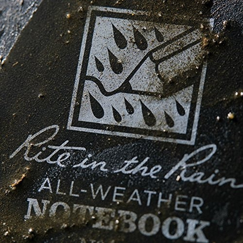 cuaderno rite in the rain espiral lateral, 20.3 x 17.8, raya