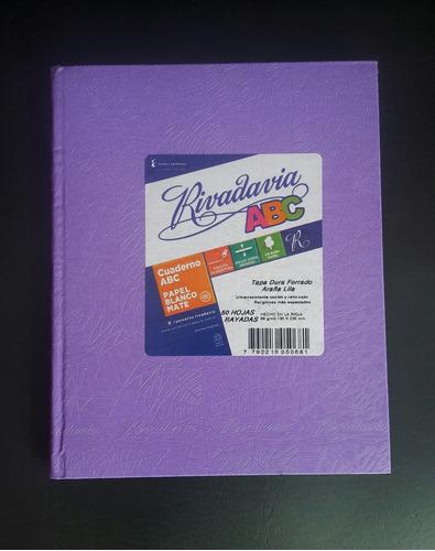 cuaderno rivadavia abc araña x 50 hojas